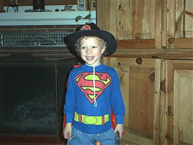 Superman Cowboy!